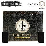COCOYAYA Coconut Odorless Square Shaped Hookah Charcoals Charcoal Coal Coals for Hookah (500gm)