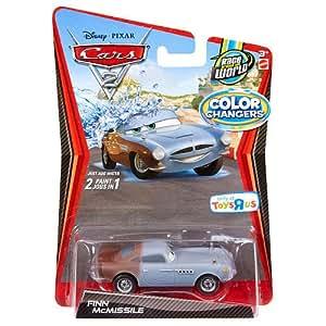 Disney Pixar Cars 2 Color Changer Finn McMissile V9876