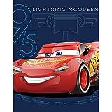 Jay Franco Lightning McQueen Cars 3Race Track Fleece Decke Überwurf