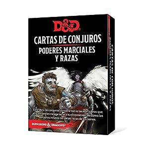 Dungeons & Dragons- Poderes Marciales y Razas-Cartas de Conjuro Castellano, Color (Edge Entertainment EEWCDD85)