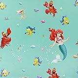Fabulous Fabrics Verdunkelungsstoff Disney's Arielle 3 —