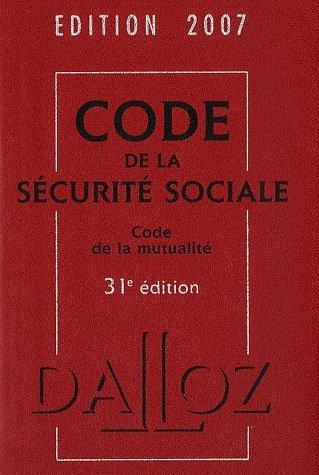 Code de la sécurité sociale et Code de la mutualité par Françoise Bousez
