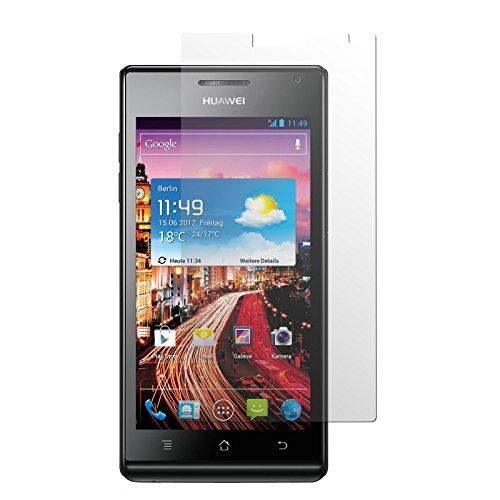 2 x Displayschutzfolie klar für Huawei Ascend P1 von PhoneNatic
