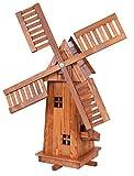 Grande Mulino a vento in legno impregnato, e cuscinetti a sfera