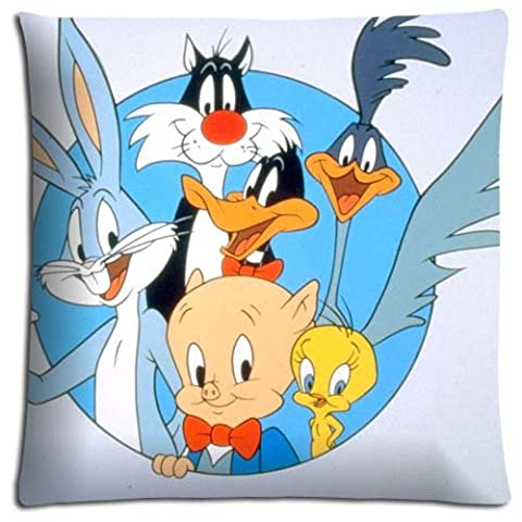 Cotton Polyester Fresh BACTERIA RESISTANT Looney Tunes Throw Pillow Shells