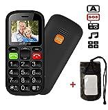 Best Cell Phones For Elderlies - Dual SIM Unlocked GSM Big Button Mobile Phone Review
