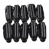 Tappi Nero Doppio Rail Humbucker Micro manico per chitarra con 4fili per chitarra elettrica 10pcs nero
