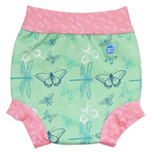Splash Happy Nappy Wiederverwendbare Schwimmwindel, Grün (Libelle), verschiedene Größen