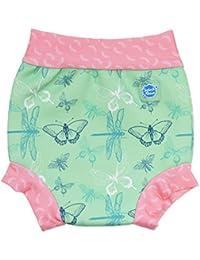 Splash About nbsp;Happy Nappy, pannolino riutilizzabile per neonati e bambini, ideale per il nuoto, and Toddler Happy, Dragonfly, Small 0-4 Months