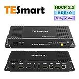 TESmart 2x1 HDMI KVM Switch HDMI 4K 3840 x 2160 @ 60Hz 4:4:4:4 con 2 cavi KVM da 1,5 m, supporta dispositivi USB 2.0 per controllare fino a 2 computer/server/DVR (nero)