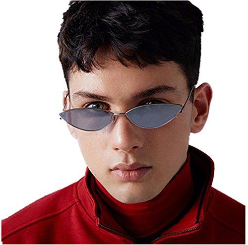 CLOOM Damen Mode Katzenaugen Sonnenbrille Integriertes UV Cat Eye Sunglasses Damenbrillen...