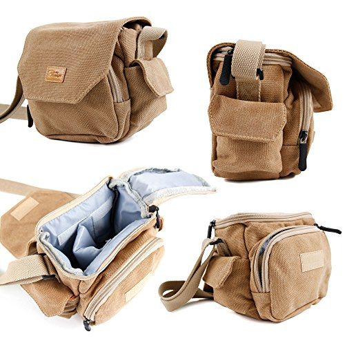 duragadget-tan-brown-medium-sized-canvas-carry-bag-for-new-panasonic-lumix-dmc-gf7-dmc-tz70-dmc-tz57