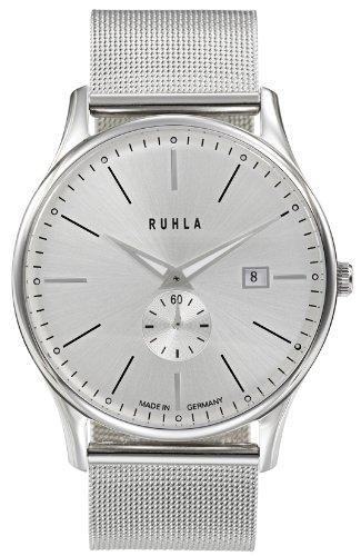 Ruhla 91235M 306567–Armbanduhr Herren, Armband in Edelstahl