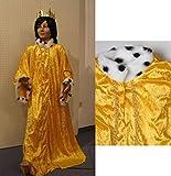 Sternsinger Kostüm Königs Mantel gelb Größe 140/152