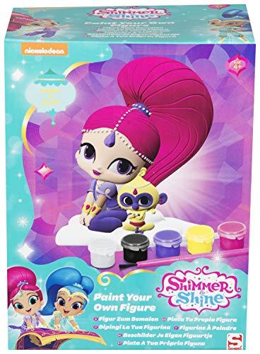 Shimmer And Shine SHI-4426-1 Malen Sie Ihre eigene Figur mehrfarbig