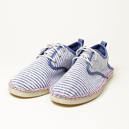 Coolway Trebol, Chaussures à Lacets Femme bleu (STR)