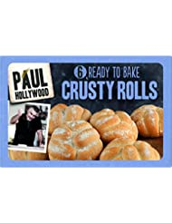 Paul Hollywood 6 Ready to Bake White Crusty Rolls