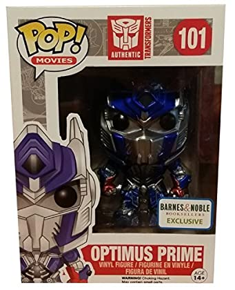 Exclusive Barnes and Noble Optimus Prime METALL...