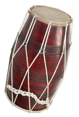 Dholak, Deluxe, Cord and Ring