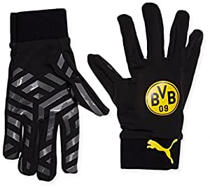 Puma BVB Field Player Gants joueur 4 black/Cool gray/Cyber yellow