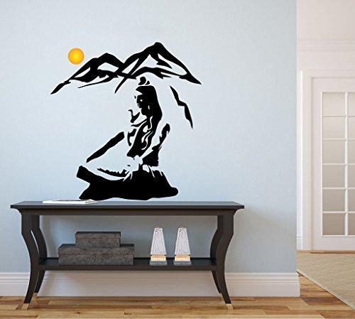 Decor Kafe U0027Shiva Himalayau0027 Wall Art Home Decor Wall Stickers (PVC Vinyl,