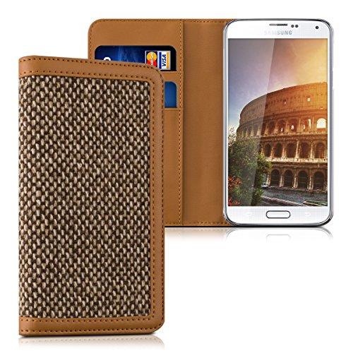 kalibri-wallet-case-cover-donna-for-samsung-galaxy-s5-s5-neo-s5-duos-cover-flip-tweed-artificial-lea