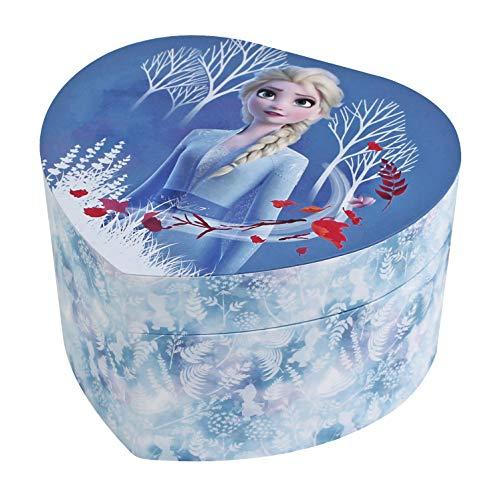 Trousselier Disney Die Eiskönigin 2 Figuren Elsa, Schmuckkästchen mit Musik, ideal als Geschenk für Mädchen, Musik aus dem Film, Blau