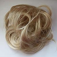 PRETTYSHOP Postizo Coletero Peinado alto, rizado, Moño descuidado,rubia mezcla # 86AH613 G30B
