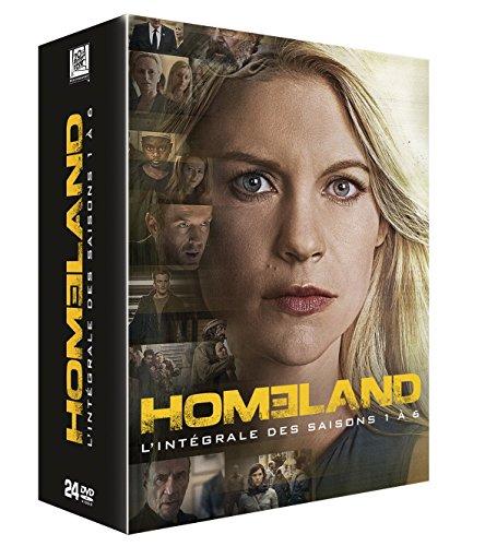 HOMELAND : SAISONS 1 À 6 - COFFRET 24 DVD, DVD/BluRay