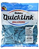 Qualatex 65228 Quick Link Tropical Latex Balloons, Teal, 12-Inch, 50-Piece