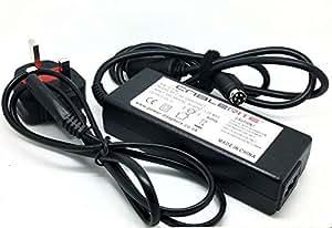 12V Techwood 16911hd TV LCD Câble adaptateur d'alimentation avec câble d'alimentation/de rechange