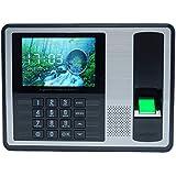 KKmoon Biometrico di impronte Digitali Password Macchina di Presenza Dipendenti Check-in Recorder 4 pollici TFT LCD DC 5V Presenza di Tempo Clock