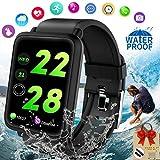 Smartwatch Orologio Fitness Tracker Watch Android iOS Impermeabile IP67 Activity Tracker Pressione Sanguigna Smart Watch Cardiofrequenzimetro da Polso Braccialetto Contapassi Per Uomo Donna Huawei
