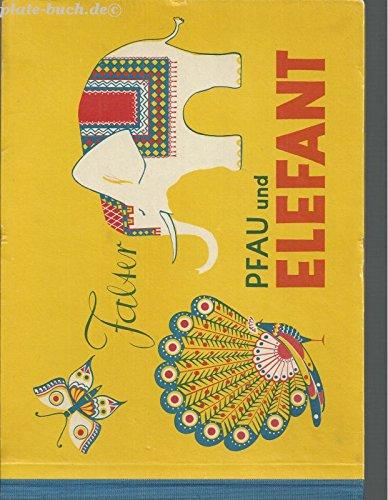 Falter, Pfau und Elefant über das schmückende Gestalten
