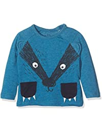 TOM TAILOR Kids Baby Boys' Cute T-Shirt With Ears Long Sleeve Top