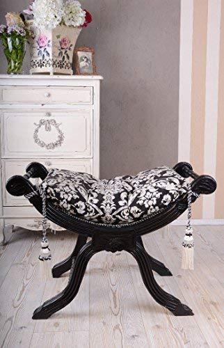 Königliche Sitzgondel, Hocker, Schemel, Stockerl, Sitzmöbel mit königlichem Ambiente im opulenten...