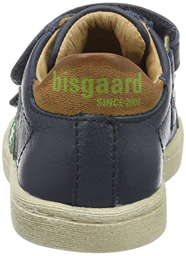 Bisgaard Unisex-Kinder Klettschuhe Low-Top Blau (600 Blue)