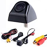 Leoie Black HD CCD Car Rearview Camera, Waterproof Night Vision 170° Wide Angle