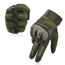 Information: Hier kommt ein Paar ideale taktische Handschuhe für alle Outdoor-Liebhaber! Vbiger hat Schlag- und Verschleißschutzmaterialien genommen, um Ihre Hände perfekt zu schützen und eine lange Lebensdauer zu gewährleisten. Wenn Sie mehr Details...