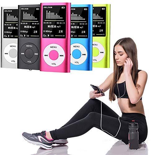 DishyKooker Musik-Player Radio HiFi MP3-Player Digitaler LCD-Bildschirm Sprachaufzeichnung FM-Player Elektronisches Telefonzubehör für Reisen/Arbeiten -