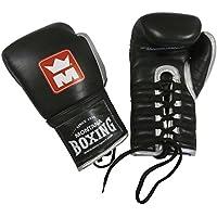 Montana 45228–Guantes de Boxeo Unisex, Color Negro