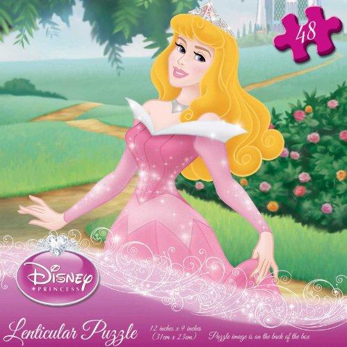 Disney Princess Lenticular Puzzle - Disney Princess Lenticular Puzzle [In the