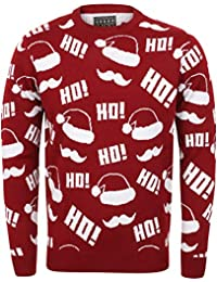 adultes Seasons Greetings Unisexe Pull Noël Créateur Noël Festif PULL
