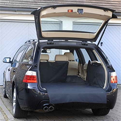 Heavy Duty Rubber Car Boot Liner Mat for Vauxhall Antara 07-On