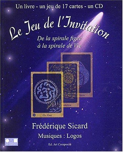Jeu de l'invitation (livre + 17 cartes + CD) par Frédérique Sicard