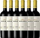 6er Vorteilspaket Malbec 2017 - Kaiken | trockener Rotwein | argentinischer Rotwein aus Mendoza | 6 x 0,75 Liter