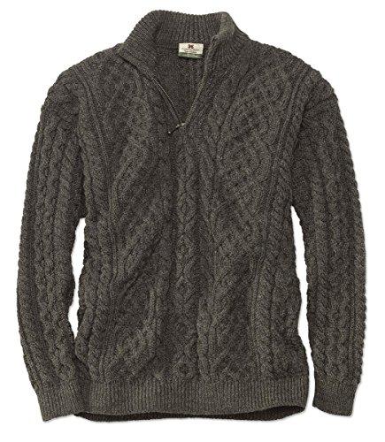 orvis-black-sheep-quarter-zip-pullover-brown-medium