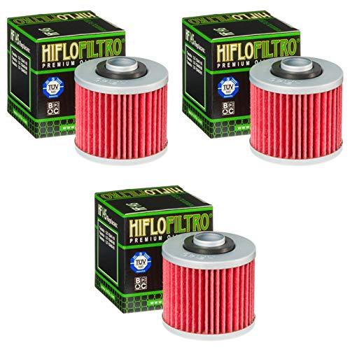 3x Filtri olio Yamaha XT 600 H 84-90 Hiflo HF145