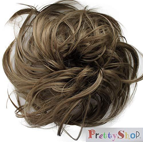 Prettyshop Haargummi Haarteil Zopf Haarverdichtung Scrunchie