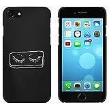 Schwarz 'Falsche Wimpern' Hülle für iPhone 7 (MC00079825) - Best Reviews Guide